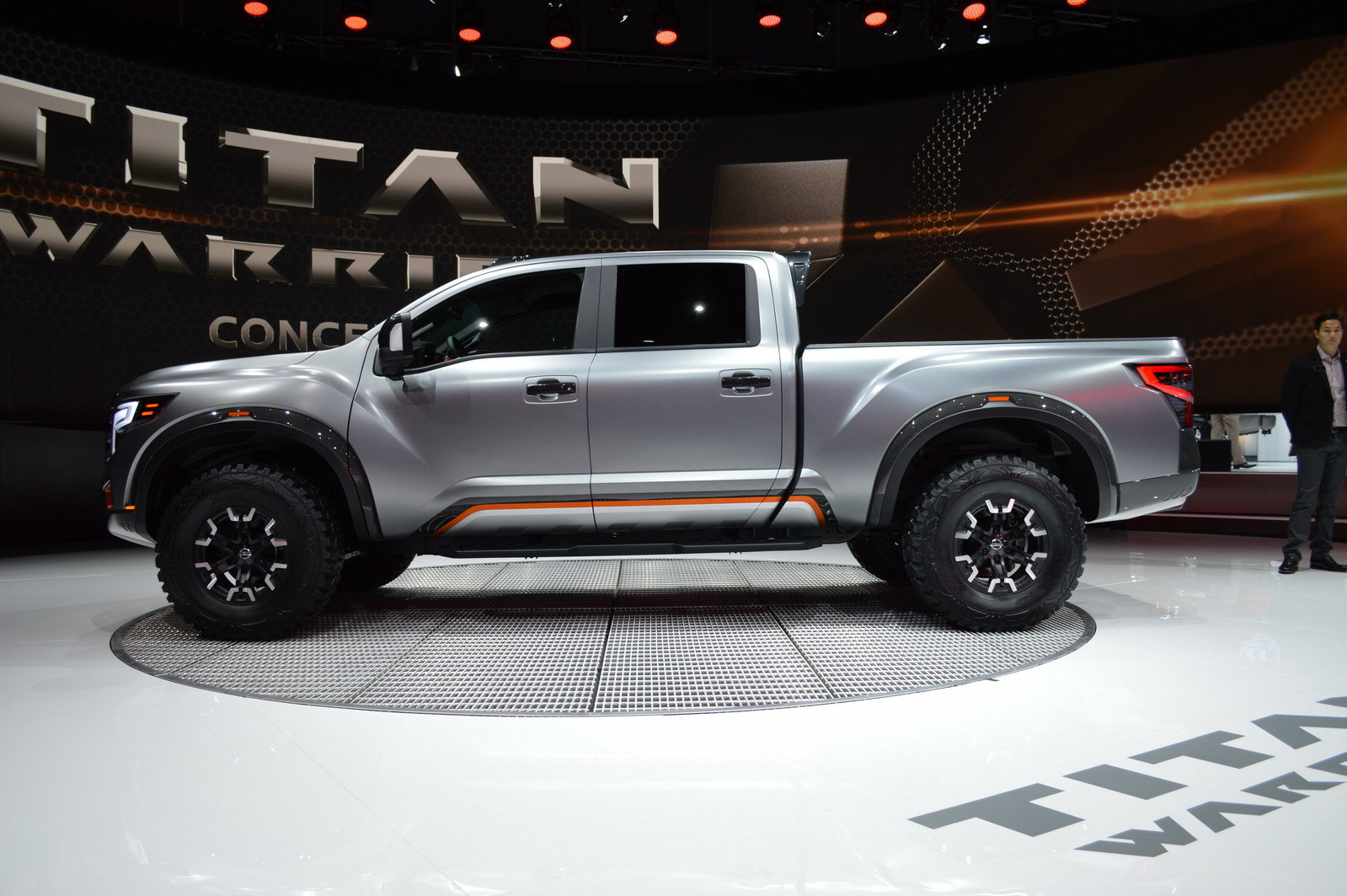 2016 nissan titan warrior concept picture 661601 truck review top speed. Black Bedroom Furniture Sets. Home Design Ideas