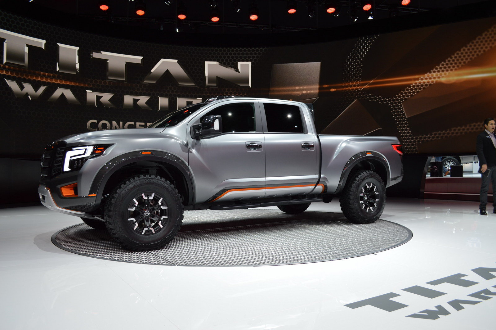 2016 nissan titan warrior concept picture 661602 truck review top speed. Black Bedroom Furniture Sets. Home Design Ideas