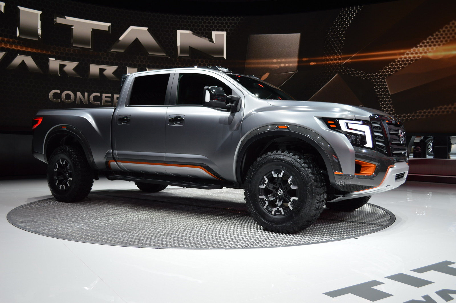 2016 nissan titan warrior concept picture 661595 truck review top speed. Black Bedroom Furniture Sets. Home Design Ideas