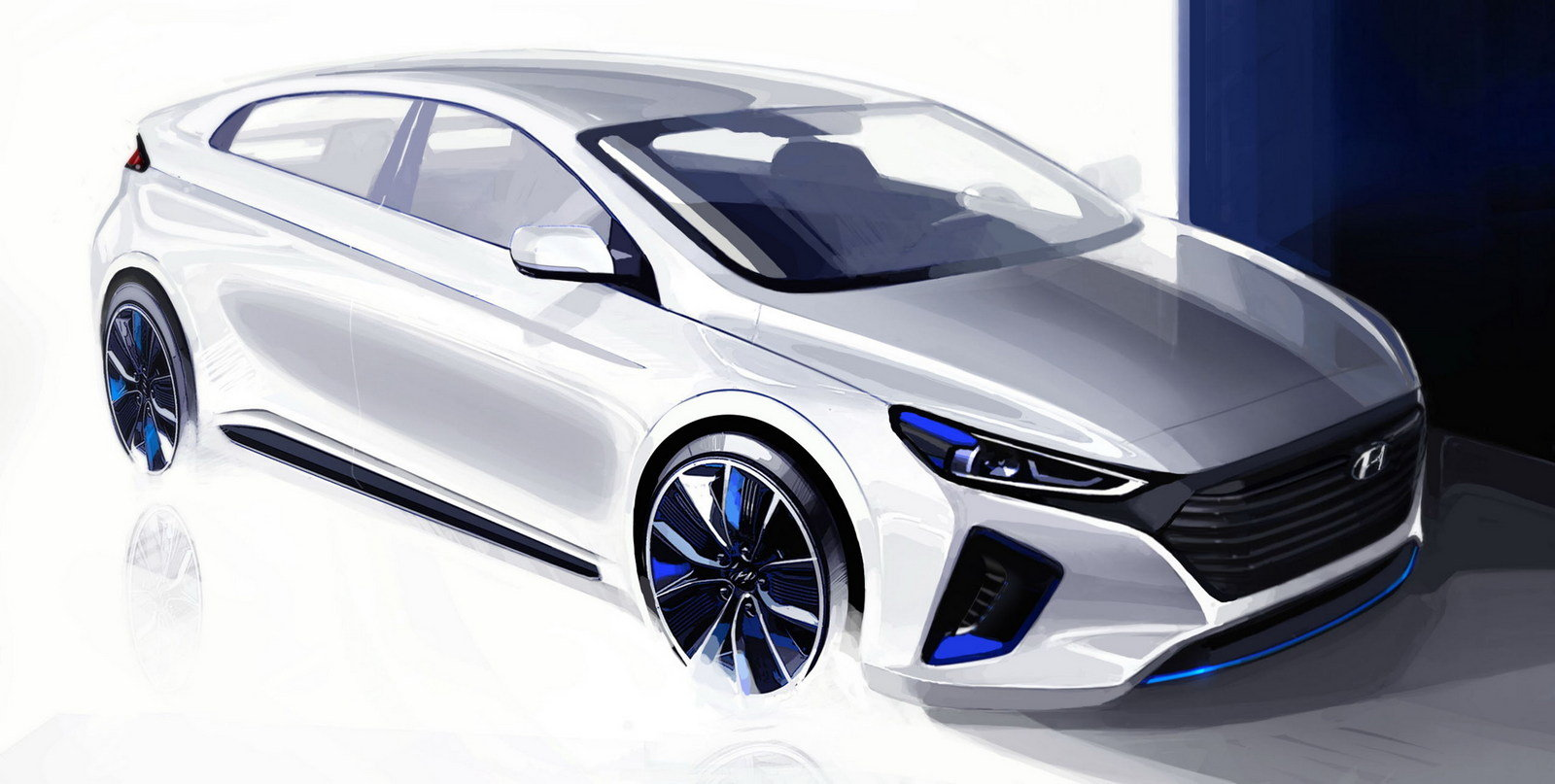 2017 hyundai ioniq picture 660656 car review top speed. Black Bedroom Furniture Sets. Home Design Ideas