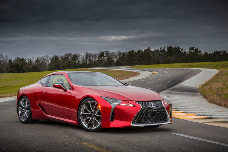 2018 Lexus LC 500 High Resolution Exterior Wallpaper quality - image 661465