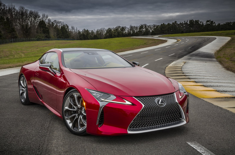 2018 Lexus LC 500 High Resolution Exterior - image 661467