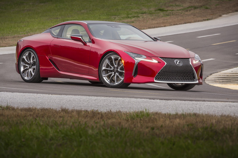 2018 Lexus LC 500 High Resolution Exterior - image 661469