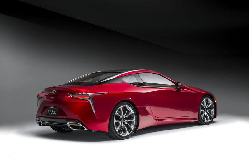 2018 Lexus LC 500 High Resolution Exterior - image 661473