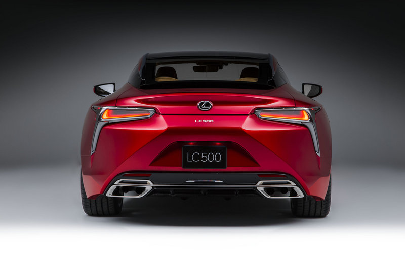 2018 Lexus LC 500 High Resolution Exterior - image 661475