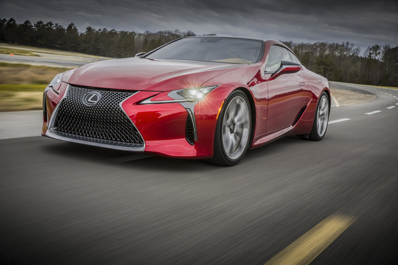 2018 Lexus LC 500 High Resolution Exterior - image 661461