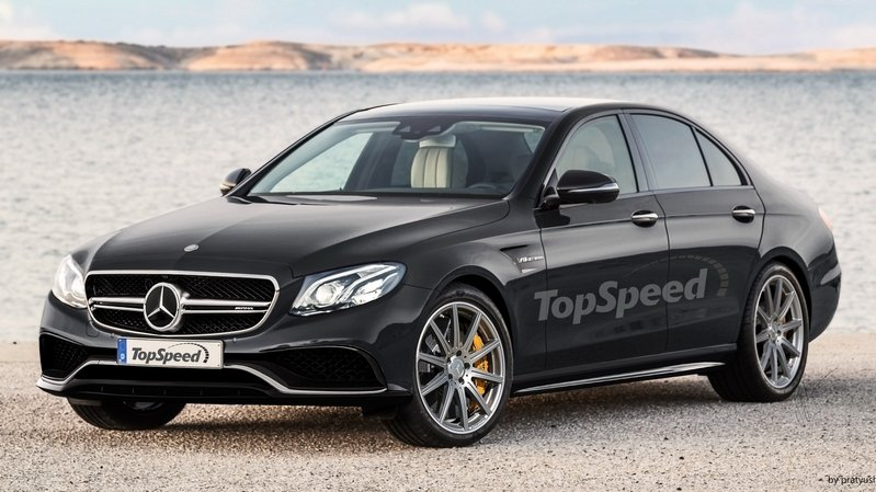 Mercedes to Give the AMG E63 AWD And Drift Mode
