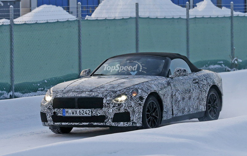 2019 BMW Z4 High Resolution Exterior Spyshots - image 662518