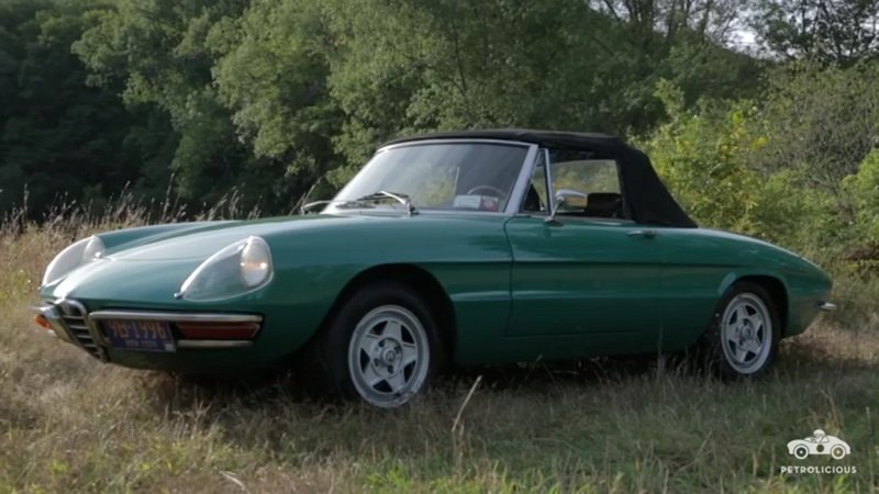 Wide Open Spirit - A Look Into The Soul Of One Mans Alfa Romeo Spider: Video