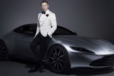 Aston Martin DB10 Up For Auction