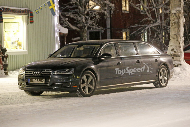 2017 Audi A8L Extended