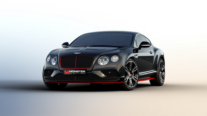 "2016 Bentley ""Monster by Mulliner"" Continental GT"