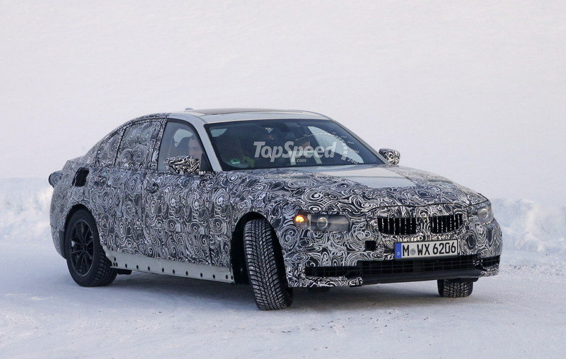 2019 BMW 3 Series High Resolution Exterior Spyshots - image 662551