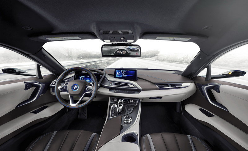 2016 BMW i8 Mirrorless Concept - image 660758