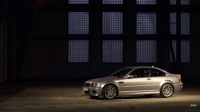 BMW Puts The Spotlight On The Third-Generation M3: Video