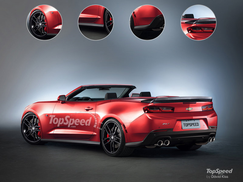 2018 Chevrolet Camaro ZL1 Convertible Exterior Exclusive Renderings Computer Renderings and Photoshop - image 660648