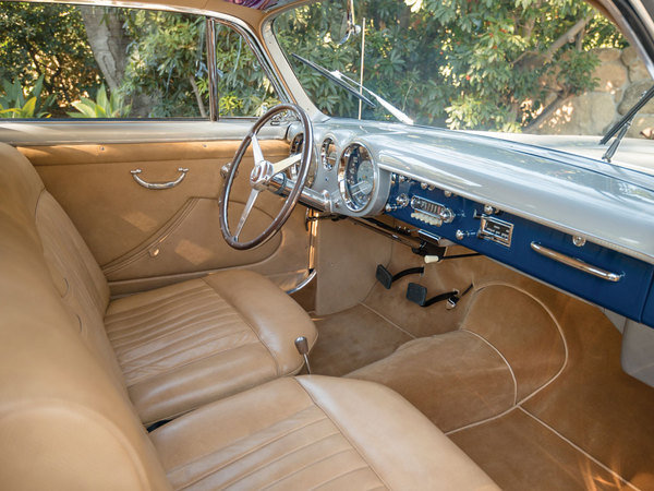 1952 cunningham c3 coupe car review   top speed sports car interiors Sport D Cars Inside