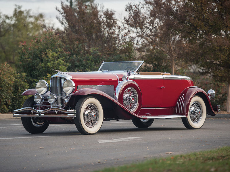 1929 Duesenberg Model J Disappearing Top Torpedo Convertible Coupe High Resolution Exterior - image 663535