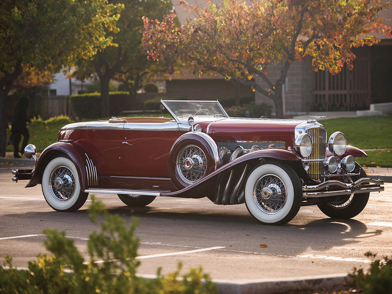 1929 Duesenberg Model J Disappearing Top Torpedo Convertible Coupe High Resolution Exterior - image 663505