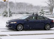 Ford Conducts First Ever Snow Tests Of Autonomous Vehicles - image 661995
