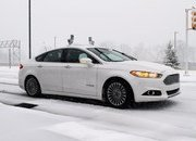Ford Conducts First Ever Snow Tests Of Autonomous Vehicles - image 661997