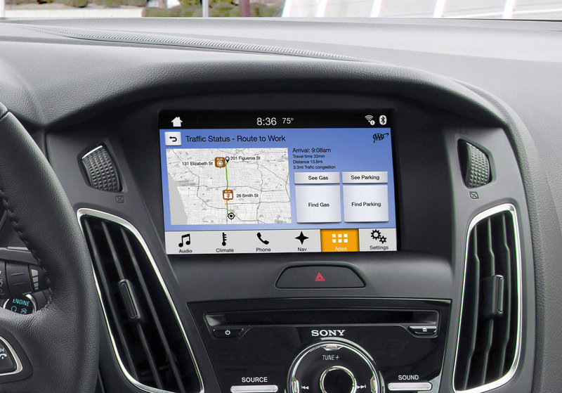 Ford's SYNC 3 Infotainment System Adds Apple CarPlay And