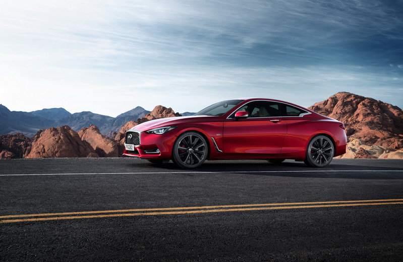 2017 Infiniti Q60 Coupe High Resolution Exterior - image 661437