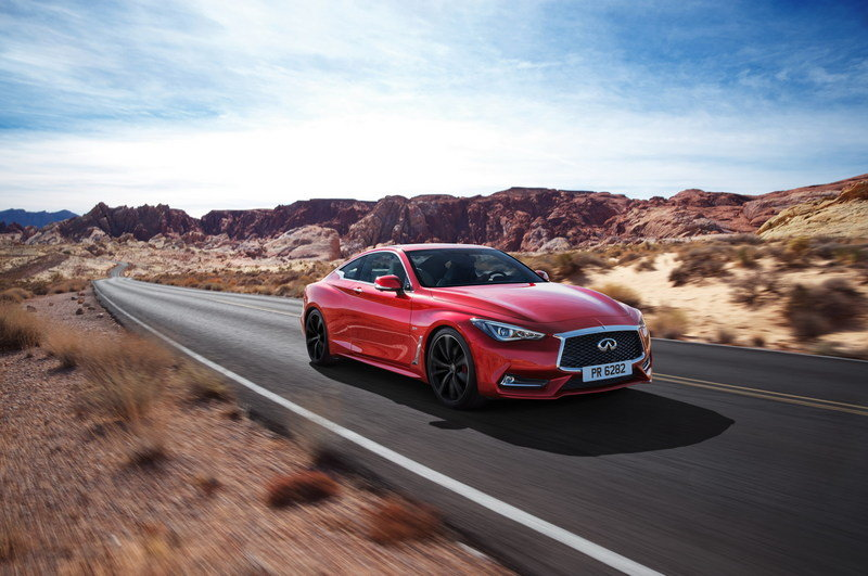 2017 Infiniti Q60 Coupe High Resolution Exterior Wallpaper quality - image 661436