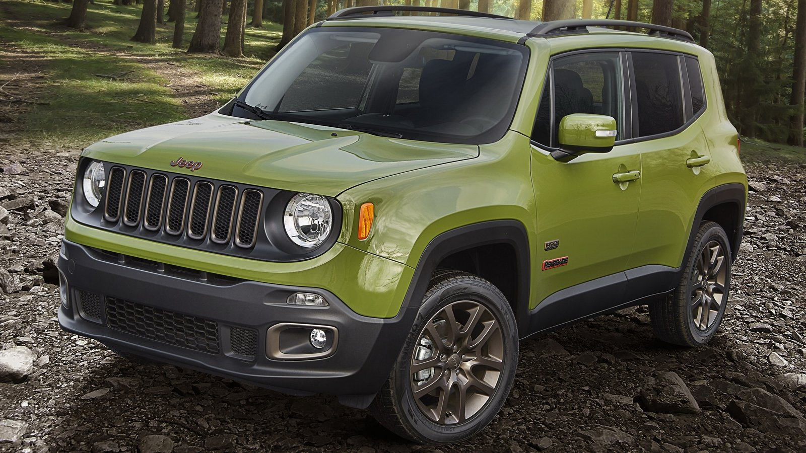 Jeep renegade colors 2016