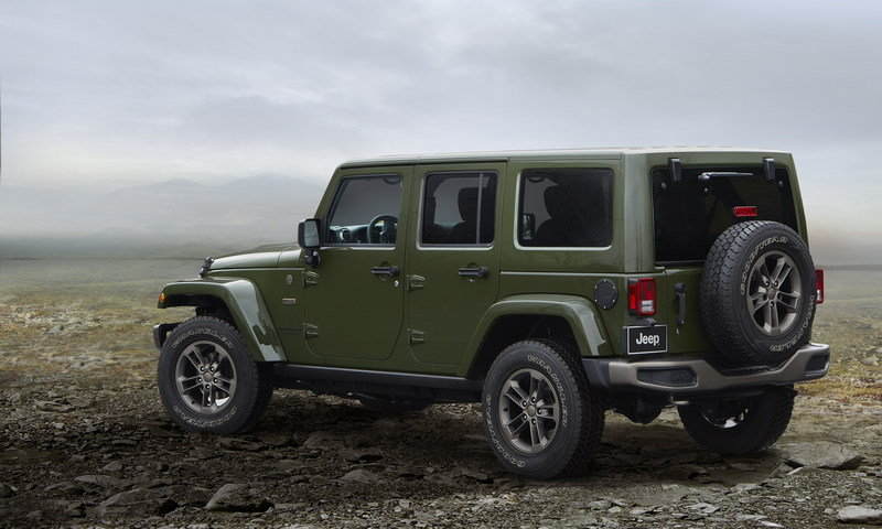 2016 Jeep Wrangler 75th Anniversary Edition High Resolution Exterior - image 660880