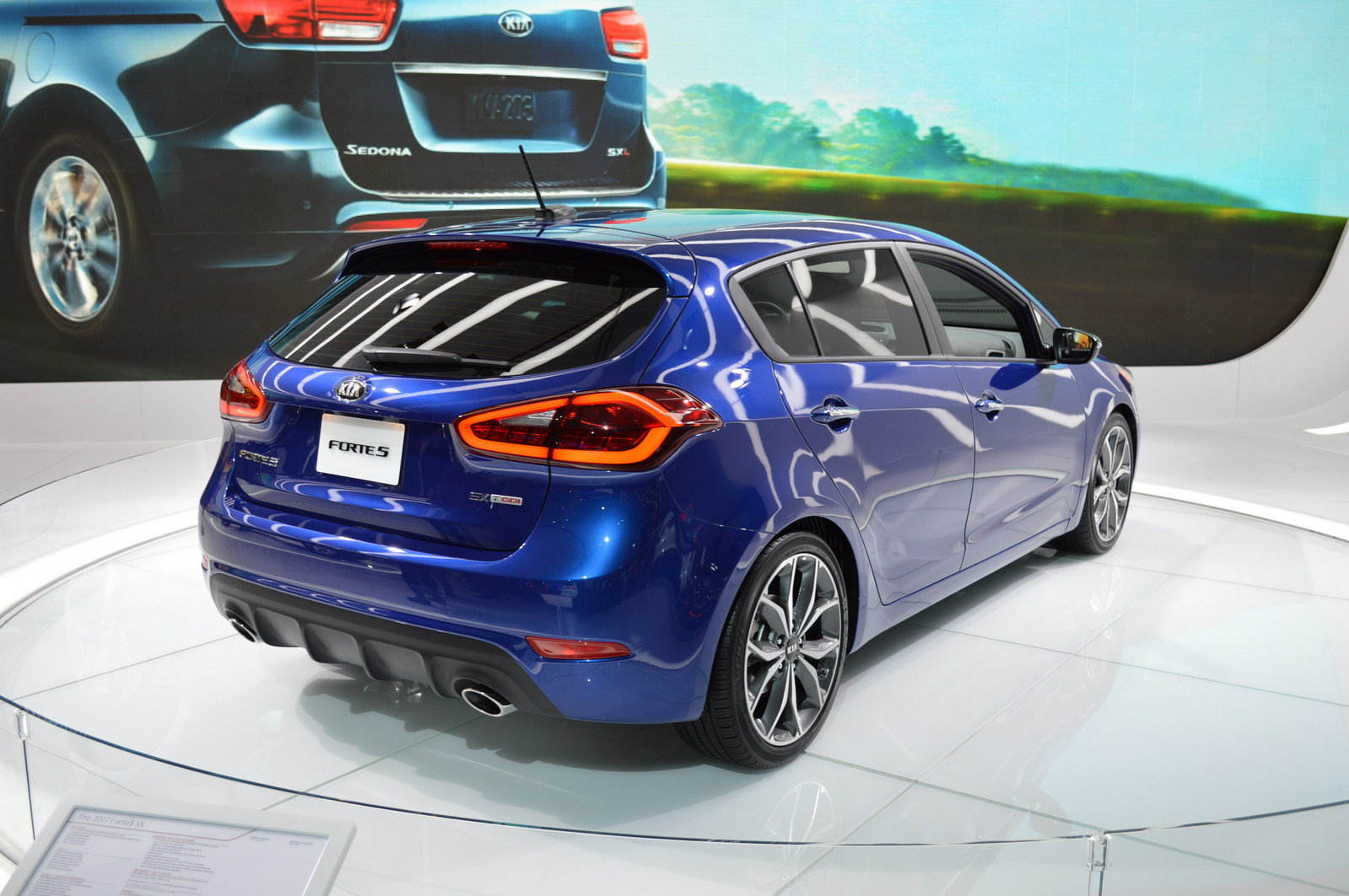2017 kia forte5 picture 661869 car review top speed. Black Bedroom Furniture Sets. Home Design Ideas