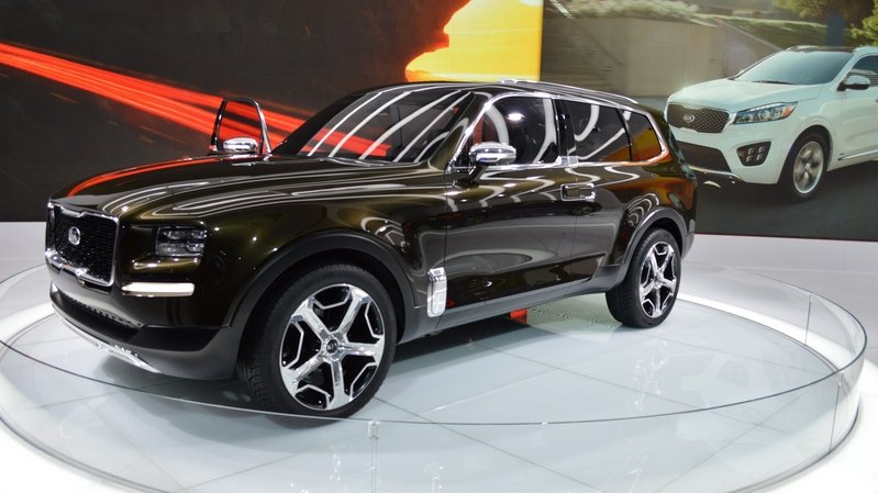 2016 Kia Telluride Concept Pictures Photos Wallpapers And Videos