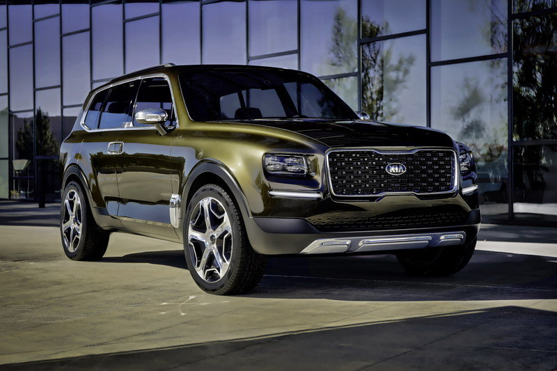 Kia Admits that the Telluride Could Wear K900 Underpinnings Exterior - image 661756