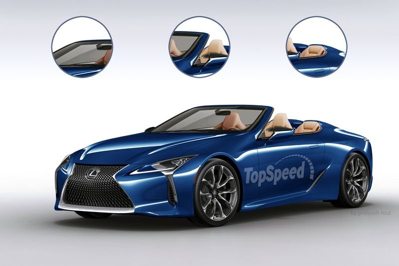 2018 Lexus LC Convertible Exterior Exclusive Renderings Computer Renderings and Photoshop - image 663268