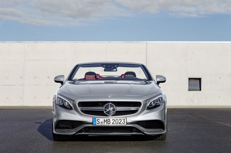 "2017 Mercedes-AMG S 63 4MATIC Cabriolet ""Edition 130"" High Resolution Exterior - image 661843"