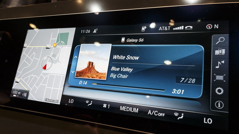 "Mercedes-Benz Highlights The E-Class' New Infotainment System, Touts ""Mercedes Me"""