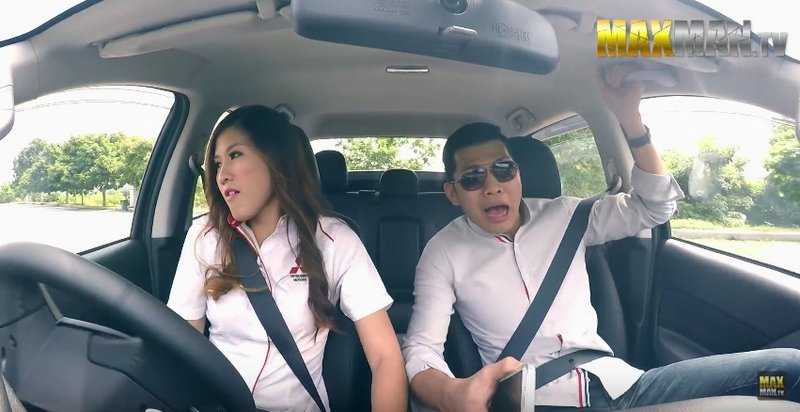 Mitsubishi Pulls Prank on Customers with Drifting Saleswoman