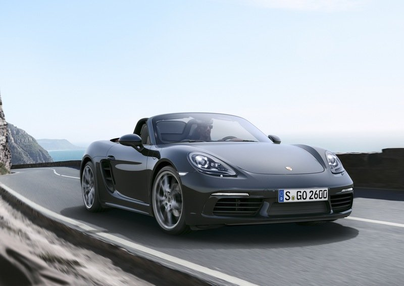 New Porsche 718 Boxster Unveiled