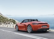 New Porsche 718 Boxster Unveiled - image 663426