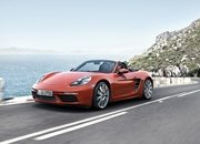 New Porsche 718 Boxster Unveiled - image 663427