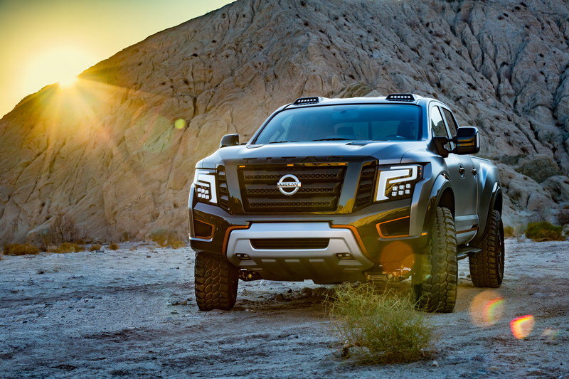 2016 Nissan Titan Warrior Concept High Resolution Exterior Wallpaper quality - image 661529