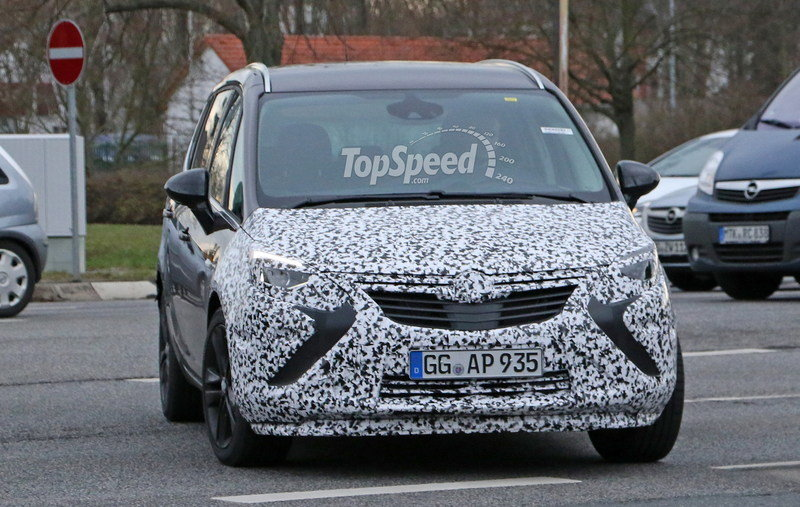 2017 Opel Zafira Top Speed