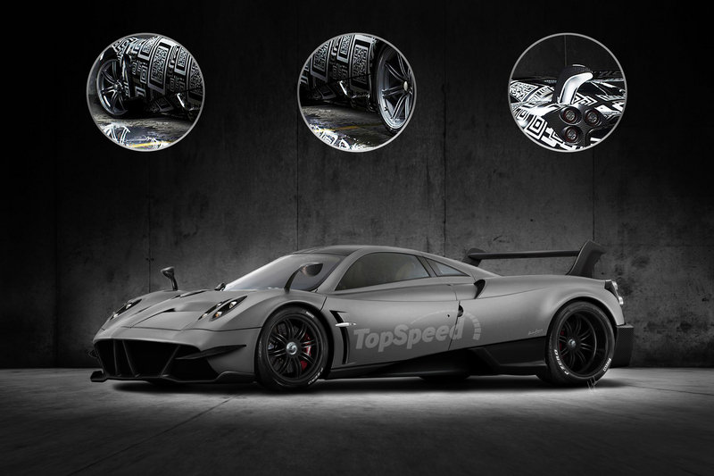 2017 Pagani Huayra BC Exterior Exclusive Renderings Computer Renderings and Photoshop - image 660885
