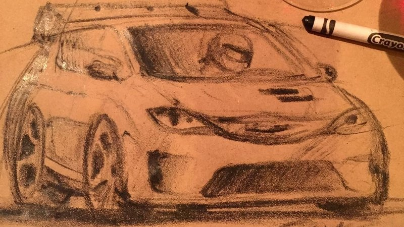Ralph Gilles Sketches A Possible Chrysler Pacifica Hellcat