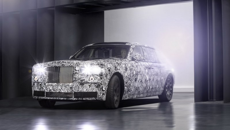 Rolls Royce Begins Testing All-New Aluminum Architecture
