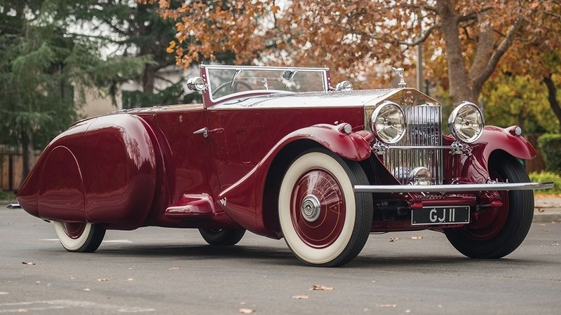 1930 Rolls Royce Phantom II Torpedo Sports