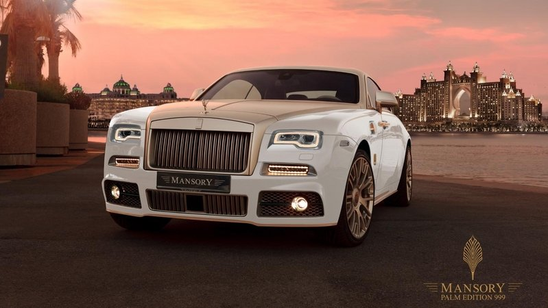 "2016 Rolls-Royce Wraith ""Palm Edition 999"" By Mansory"