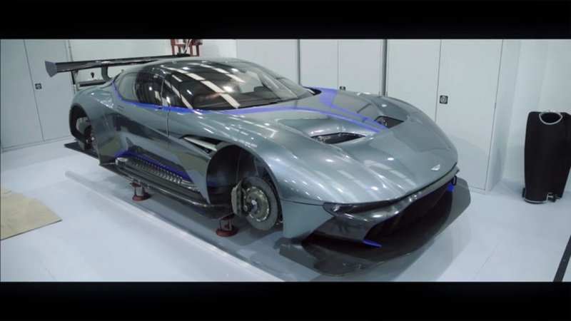 Watch How The Aston Martin Vulcan Is Being Built: Video