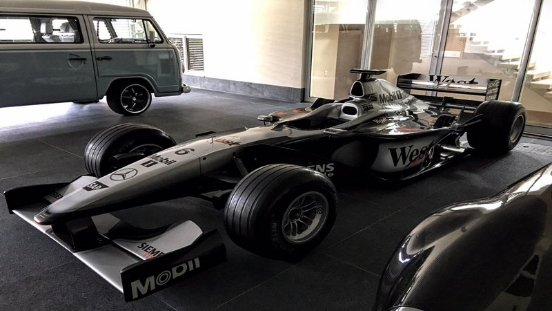 2003 McLaren Mercedes-Benz MP4-15 SSC/96 Formula 1 Race Car for Sale