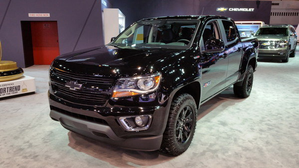 2016 chevrolet colorado z71 midnight edition truck review top speed. Black Bedroom Furniture Sets. Home Design Ideas